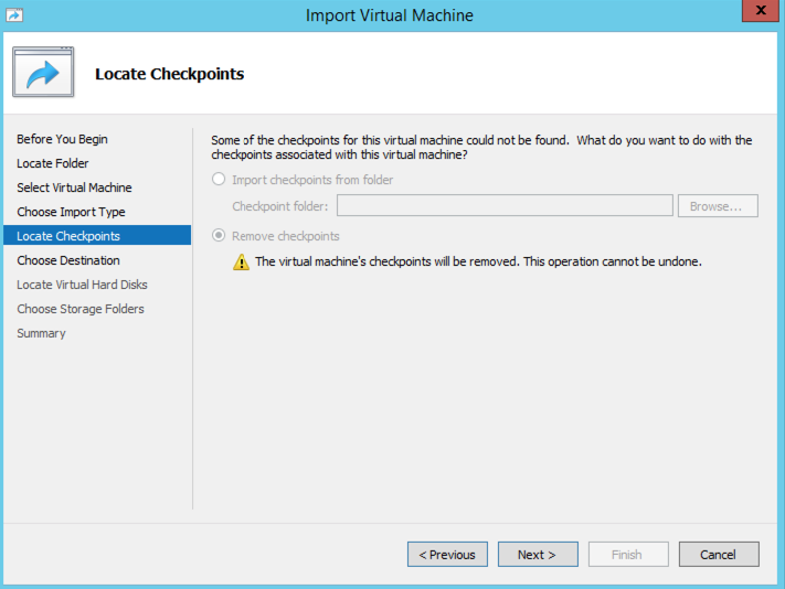 Hyper-V restore with CloudBerry Backup VM edition